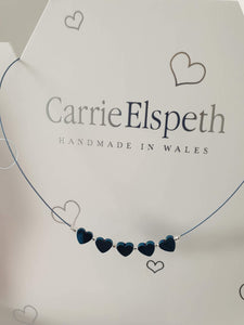Haematite heart necklace,  Carrie Elspeth - Cordelia's House of Treasures