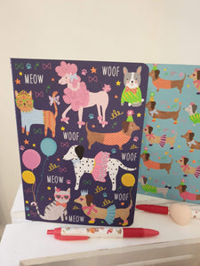 Stationery for kids. Dog lovers.