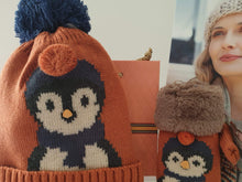 Penguin Bobble hat and mittens designed by Powder, Scotland - Cordelia's House of Treasures