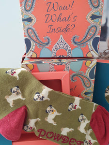 Pugg Gentleman's Bamboo soft Socks by Powder, Scotland. - Cordelia's House of Treasures