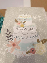Pretty wedding card with a small gift - Cordelia's House of Treasures