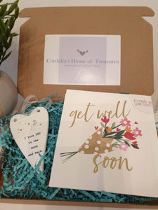 beautfiul get well soon box