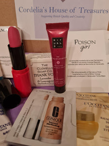 Our amazing value cosmetics subscription box 2021.