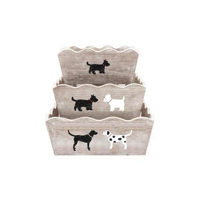 BAILEY & FRIENDS SET OF THREE NESTING BOXES - Cordelia's House of Treasures