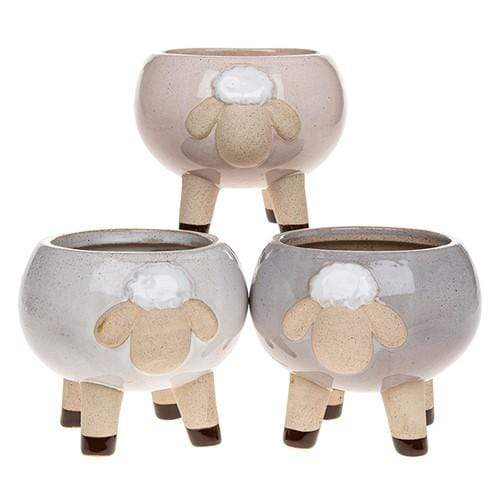 Medium sheep plant pot - Cordelia's House of Treasures