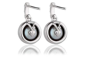 Clogau Oyster Pearl Earrings in Sterlimg Silver 3SSPE - Cordelia's House of Treasures