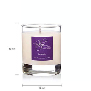 Isle of Skye Candle Company Lavender Small Tumbler Candle - White
