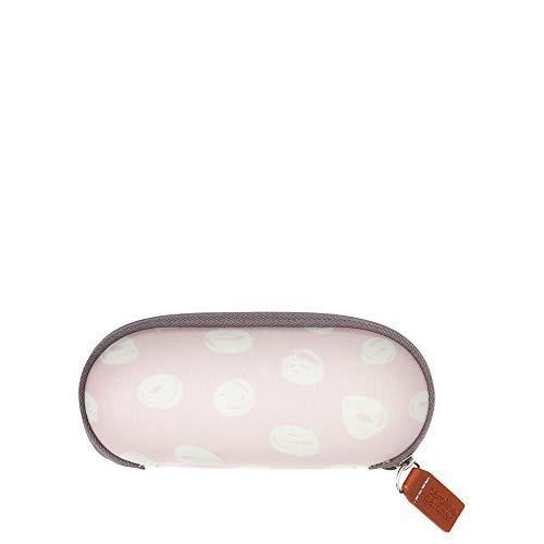 Caroline Gardner - Scribble Spot Glasses Case, Pink, One