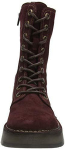 Fly London Women's RAMI043FLY Mid Calf Boot, Wine, 7 UK