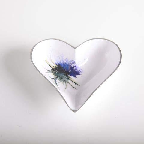 TILNAR ART Thistle Heart Dish Small 11 cm