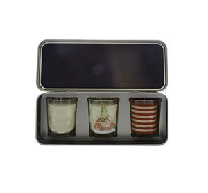 WAX LYRICAL Home Set, 3 Scented Votive Candles,