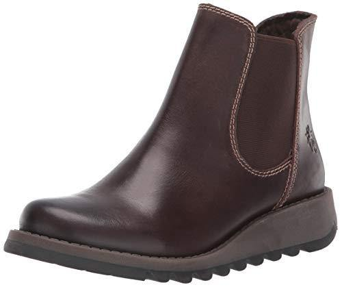 Fly London Women Salv Chelsea Boots, Brown (Dark Brown), 6 UK (39 EU)