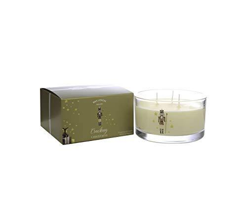WAX LYRICAL Cracking Christmas Multi Wick Candle, Up to 35 Hour Burn Time,