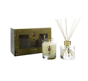 WAX LYRICAL Cracking Christmas Candle & Reed Diffuser Gift Set,