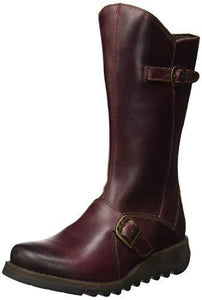 Fly London Women's MES 2 Chukka Boots, Purple (Purple 009), 7 UK (40 EU) - Cordelia's House of Treasures