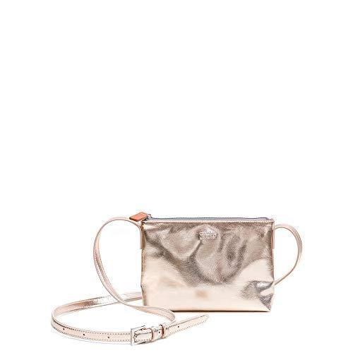 Caroline Gardner - Finsbury Small Cross Body Bag, Rose Gold, One