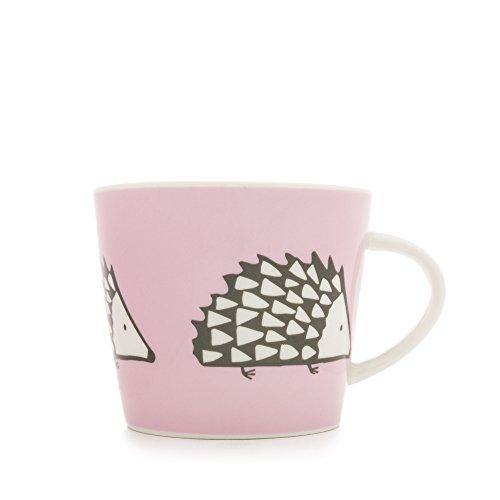 Scion SC-0167 Medium Spike Standard Bucket Mug, 0.35L, Pink, Porcelain