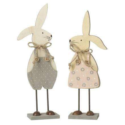 Couple of easter bunnies - Cordelia's House of Treasures
