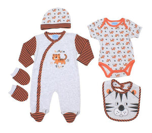 Just too Cute Tiger Layette gift set for the baby - Cordelia's House of Treasures