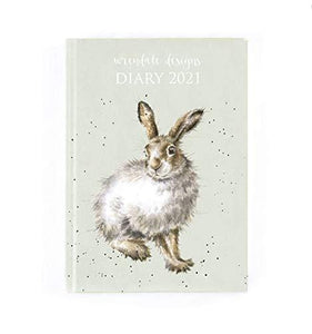 Wrendale Designs D2021 - Desk Diary 2021