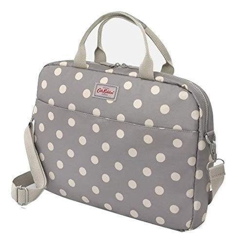 Cath Kidston Laptop Business Bag Button spot Grey
