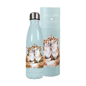 Wrendale Designs - 'Contentment' fox water bottle