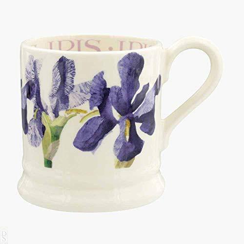 Emma Bridgewater Flowers Blue Iris 1/2 Pint Mug - Cordelia's House of Treasures