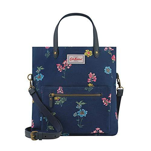 Cath Kidston Twilight Sprig Reversible Cross Body Bag Navy