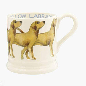 Emma Bridgewater Dogs Yellow Labrador 1/2 Pint Mug - Cordelia's House of Treasures