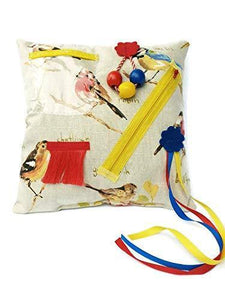 Sensory Fidget Garden Birds Cushion suitable for Dementia - Activities for Seniors - Cordelia's House of Treasures