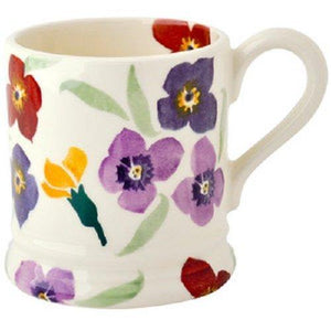 EMMA BRIDGEWATER POTTERY NEW 2016 DESIGN HALF PINT MUG Wallflower