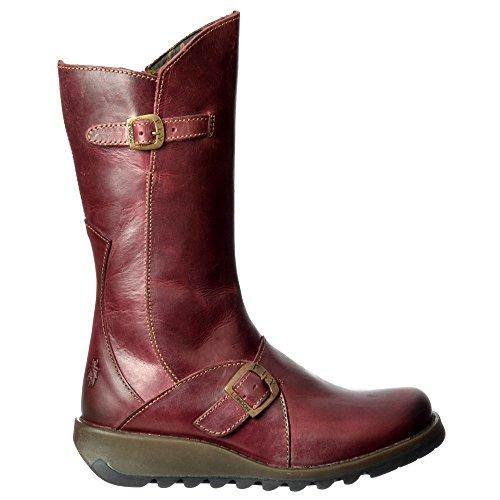 New Fly London Mes 2 Boot Womens Leather Boots Ladies Size UK 4-8 Purple (UK 7 / EU 40, Purple)
