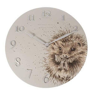 Wrendale Designs Hedgehog Wall Clock