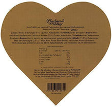 Charbonnel et Walker Pink Marc de Champagne Truffles in Heart Shaped Box 200 g