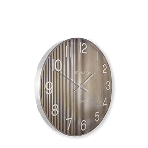 "Thomas Kent Linear Gold Large 21"" Wall Clock"