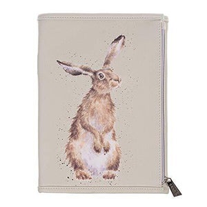 Wrendale Wallet Notebook - Woodlanders - an Illustrated Jotter Pad in A Zipped Pouch Wallet with Pockets