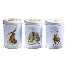 Wrendale Designs - The Country Kitchen Collection - Tea, Coffee, Sugar Canisters