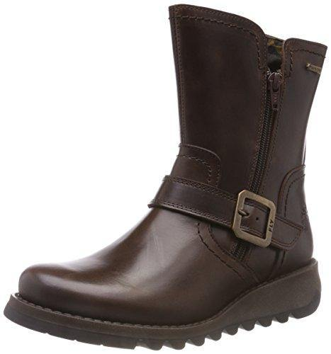 Fly London Women's SEKU376FLY Ankle Boots, Brown (Dk Brown 001), 5 UK (38 EU) - Cordelia's House of Treasures