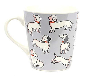 Cath Kidston China Mini Stanley Mono Dogs Mug 300ml in Grey - Cordelia's House of Treasures