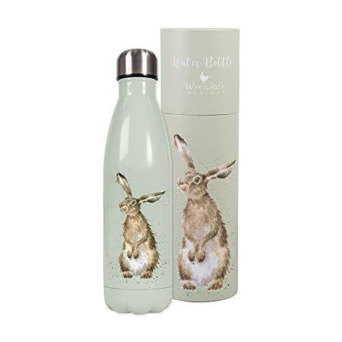 Wrendale Designs - 'Hare and the Bee' hare water bottle