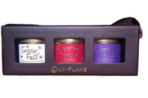 Lily Flame Mini Tins Set Christmas Selection 1 - Cordelia's House of Treasures