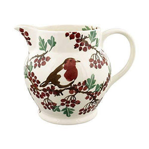 Emma Bridgewater Hawthorn Berries & Robin 3 Pint Jug - Cordelia's House of Treasures