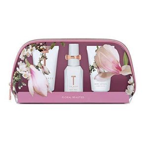 Ted Baker FLORAL BLISS Beauty PVC Bag Gift Set, Body Spray/Wash/Lotion - Cordelia's House of Treasures