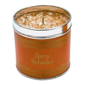 Best Kept Secrets - Elegance - Spicy Satsuma - Scented Candle Tin