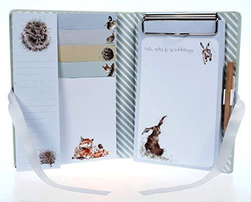 Wrendale Designs Country Set Sticky Notes Book Pencil Stationery Gift Idea