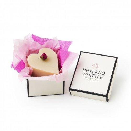 Heyland and Whittle Heart Shaped 'Queen of the Nile' Natural Soap in a Gift Box - Cordelia's House of Treasures