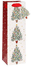 Traditional Spruce Christmas Tree Bottle Gift Bag - Cordelia's House of Treasures