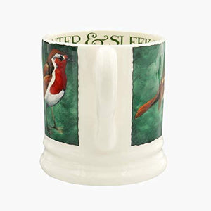 Emma Bridgewater Robin on the Green 1/2 Pint Mug