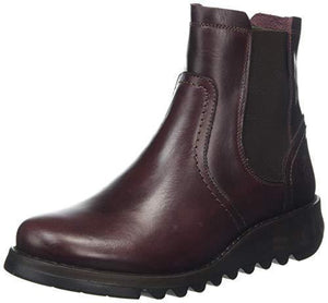 Fly London Women's Scon058fly Chelsea Boots, Purple (Purple 005), 7 UK (40 EU) - Cordelia's House of Treasures