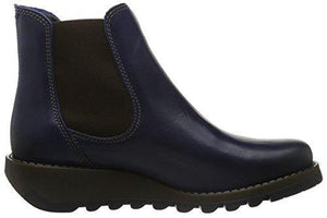 Fly London Women Salv Chelsea Boots, Blue (Blue), 6 UK (39 EU) - Cordelia's House of Treasures